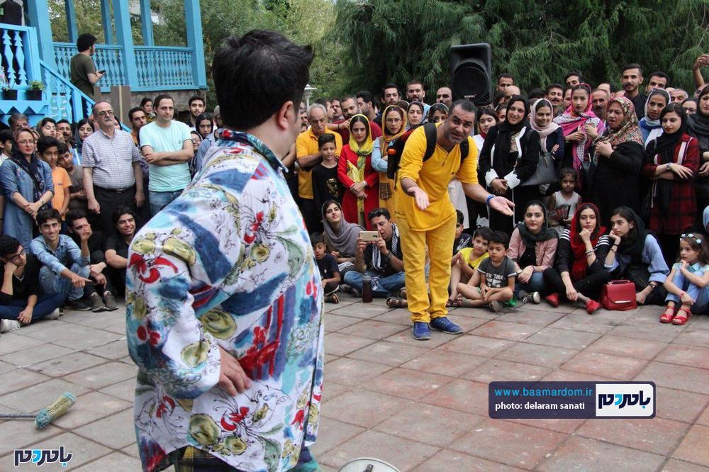 گزارش تصویری روز آخر تئاتر شهروند لاهیجان 2 - گزارش تصویری آخرین روز از نهمین دوره جشنواره تئاتر خیابانی شهروند لاهیجان