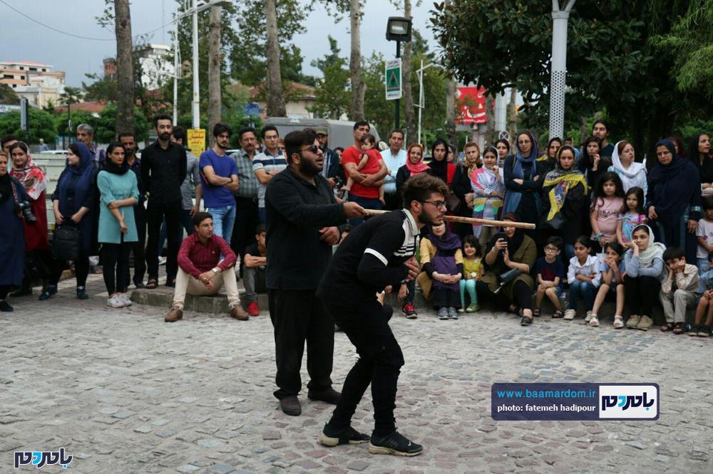 گزارش تصویری روز آخر تئاتر شهروند لاهیجان 21 - گزارش تصویری آخرین روز از نهمین دوره جشنواره تئاتر خیابانی شهروند لاهیجان