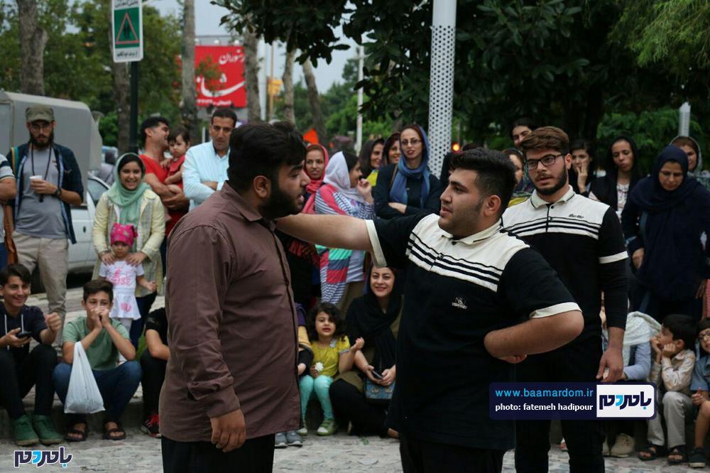 گزارش تصویری روز آخر تئاتر شهروند لاهیجان 24 - گزارش تصویری آخرین روز از نهمین دوره جشنواره تئاتر خیابانی شهروند لاهیجان