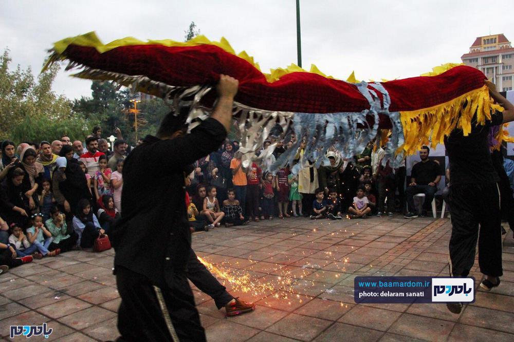 گزارش تصویری روز آخر تئاتر شهروند لاهیجان 9 - گزارش تصویری آخرین روز از نهمین دوره جشنواره تئاتر خیابانی شهروند لاهیجان