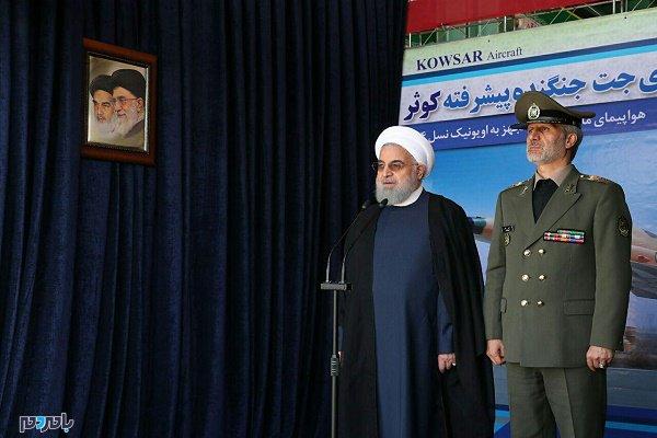 1004260 714 - آمادگی دفاعی ایران، نه به معنی جنگ طلبی، بلکه به معنای صلح طلبی پایدار است/جنگنده تمام ایرانی کوثر، افتخار ملی است