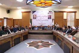 گزارش تصویری جلسه تودیع و معارفه فرماندار شهرستان رشت