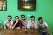 رقابت اصحاب رسانه در کافه بازی لاهیجان + تصاویر