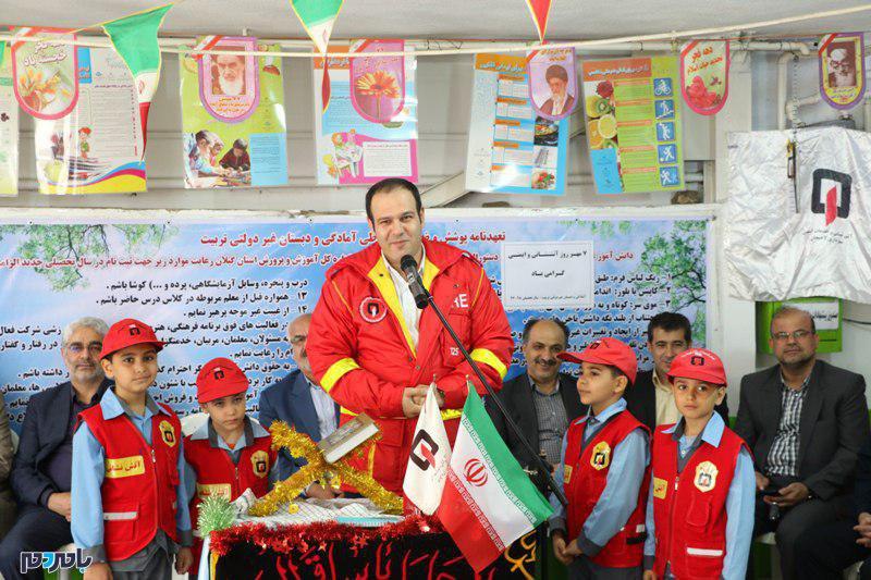 زنگ آتشنشانی و ایمنی در لاهیجان نواخته شد