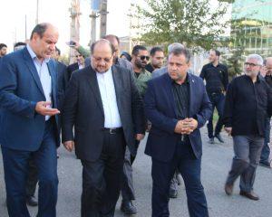 سفر چند ساعته اما پر بار وزیر صنعت، معدن و تجارت به شهرستان آستانه اشرفیه + تصاویر