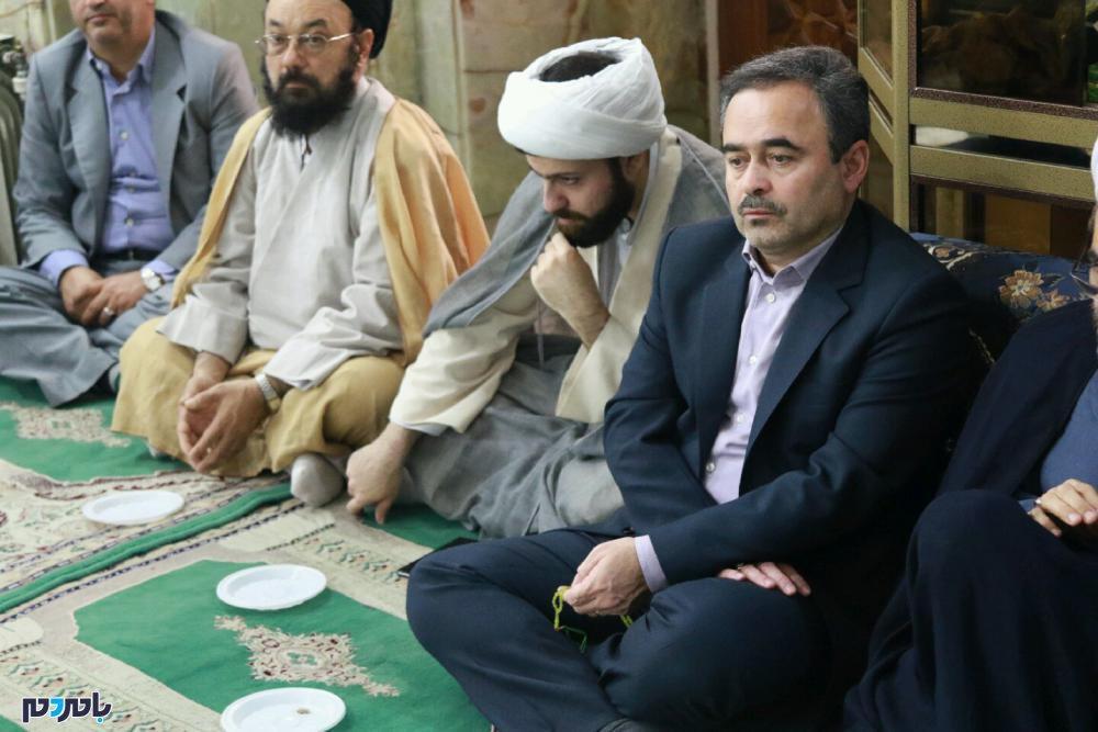 گرامیداشت شهدای حادثه تروریستی اهواز در لاهیجان 1 - مراسم گرامیداشت شهدای حادثه تروریستی اهواز در لاهیجان برگزار شد / گزارش تصویری