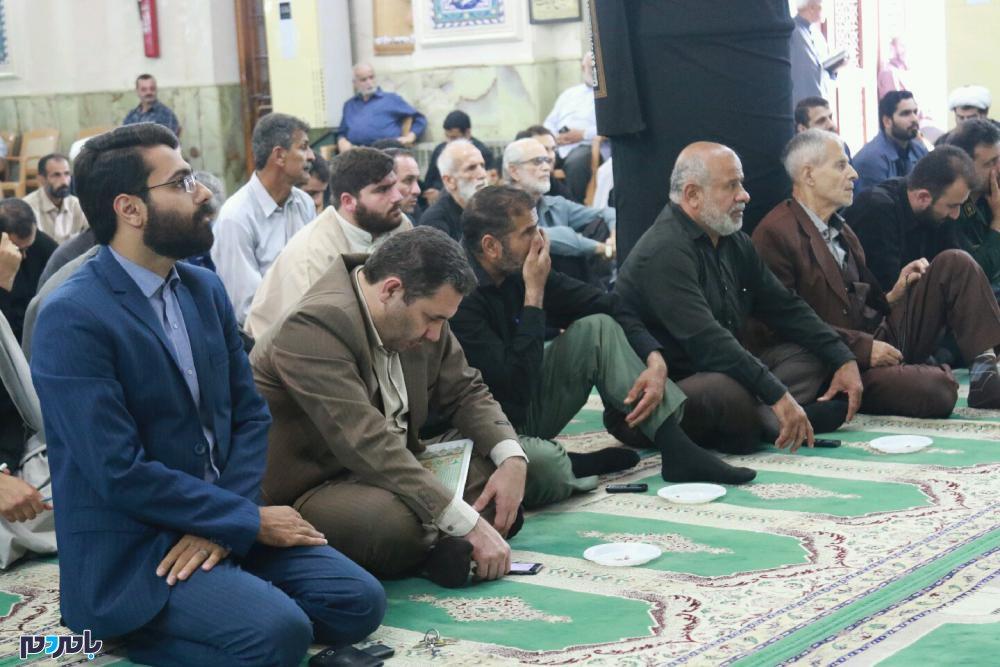 گرامیداشت شهدای حادثه تروریستی اهواز در لاهیجان 10 - مراسم گرامیداشت شهدای حادثه تروریستی اهواز در لاهیجان برگزار شد / گزارش تصویری
