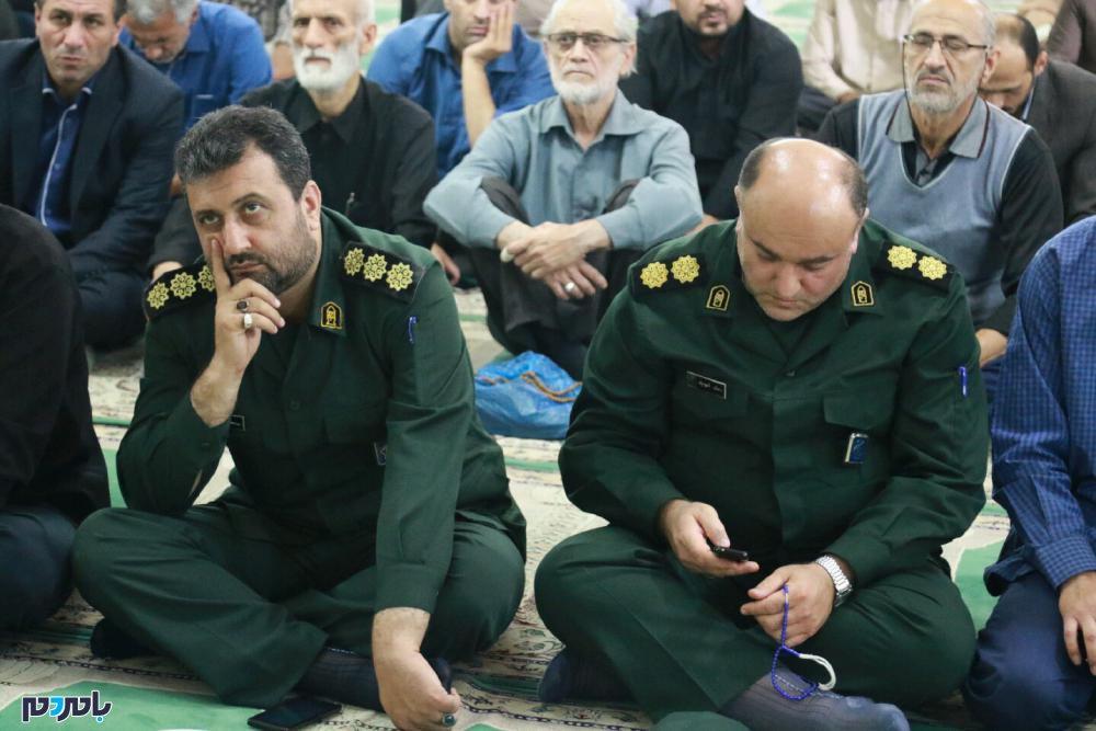 گرامیداشت شهدای حادثه تروریستی اهواز در لاهیجان 2 - مراسم گرامیداشت شهدای حادثه تروریستی اهواز در لاهیجان برگزار شد / گزارش تصویری