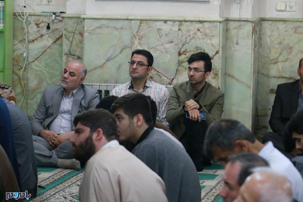 گرامیداشت شهدای حادثه تروریستی اهواز در لاهیجان 8 - مراسم گرامیداشت شهدای حادثه تروریستی اهواز در لاهیجان برگزار شد / گزارش تصویری