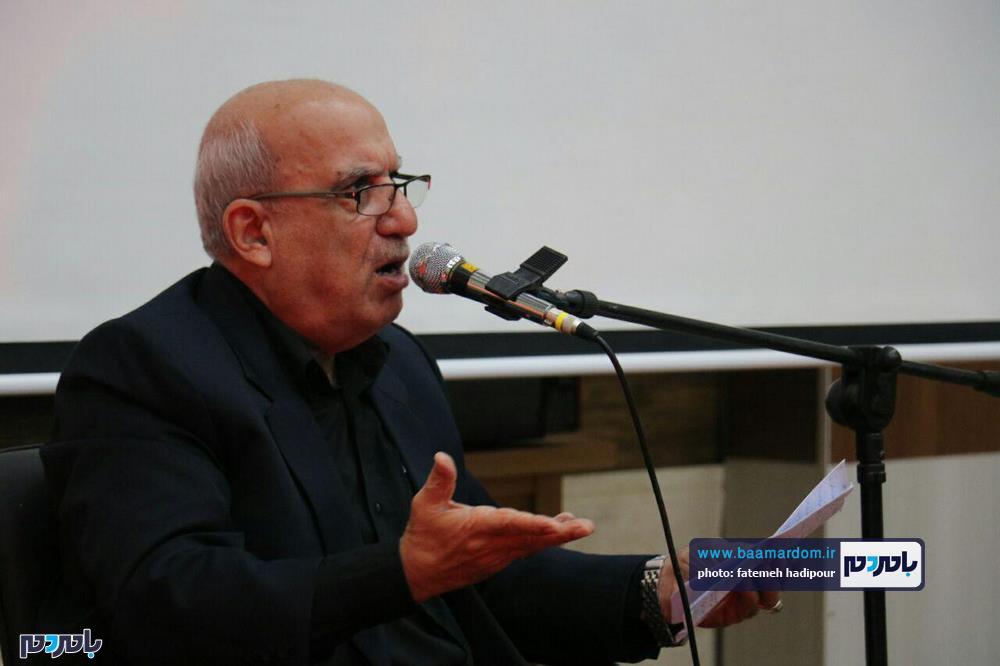 سوگواره شعر عاشورایی در لاهیجان 10 - برگزاری نخستین سوگواره شعر عاشورایی به همراه تجلیل از پیر غلامان حسینی در لاهیجان / گزارش تصویری