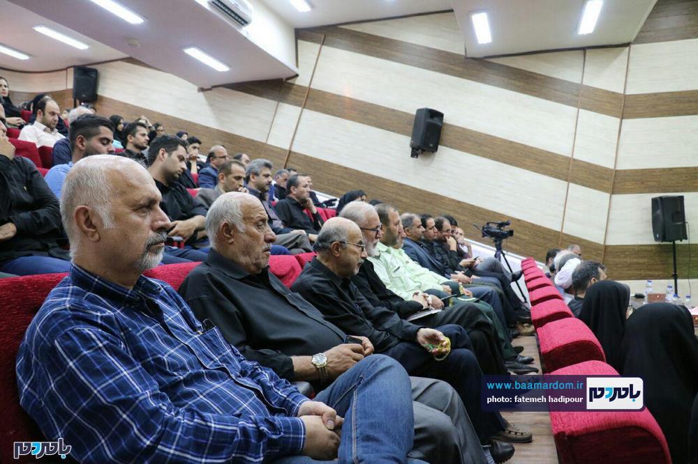 سوگواره شعر عاشورایی در لاهیجان 13 - برگزاری نخستین سوگواره شعر عاشورایی به همراه تجلیل از پیر غلامان حسینی در لاهیجان / گزارش تصویری
