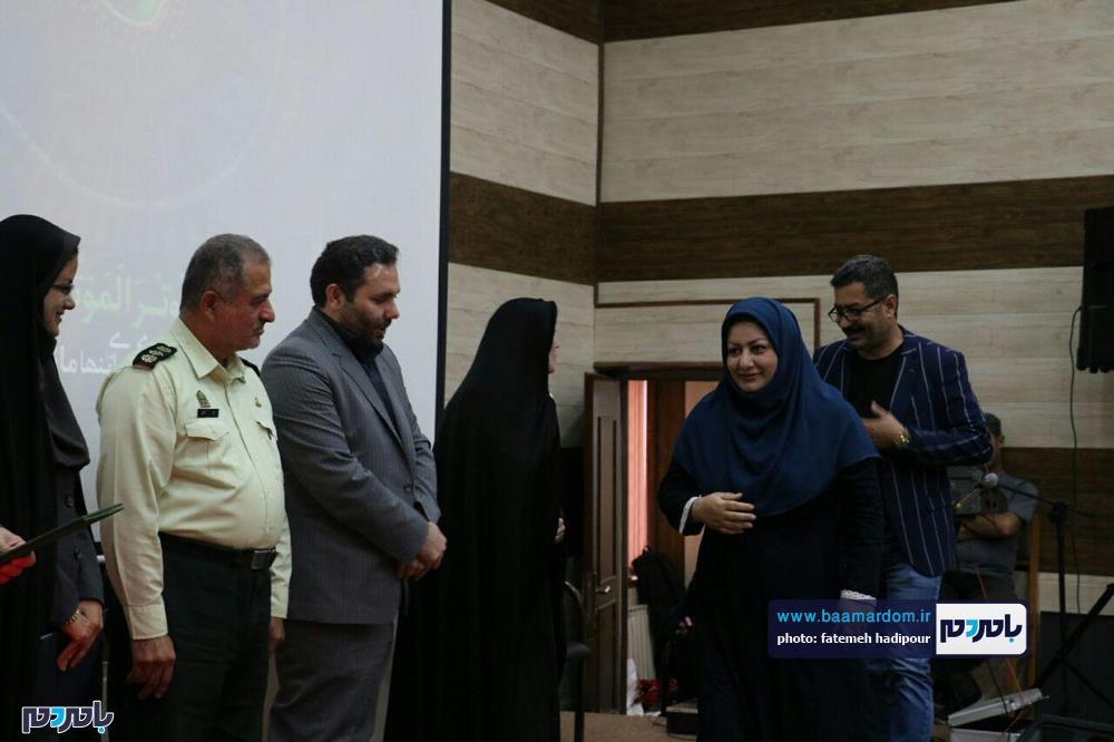 سوگواره شعر عاشورایی در لاهیجان 15 - برگزاری نخستین سوگواره شعر عاشورایی به همراه تجلیل از پیر غلامان حسینی در لاهیجان / گزارش تصویری