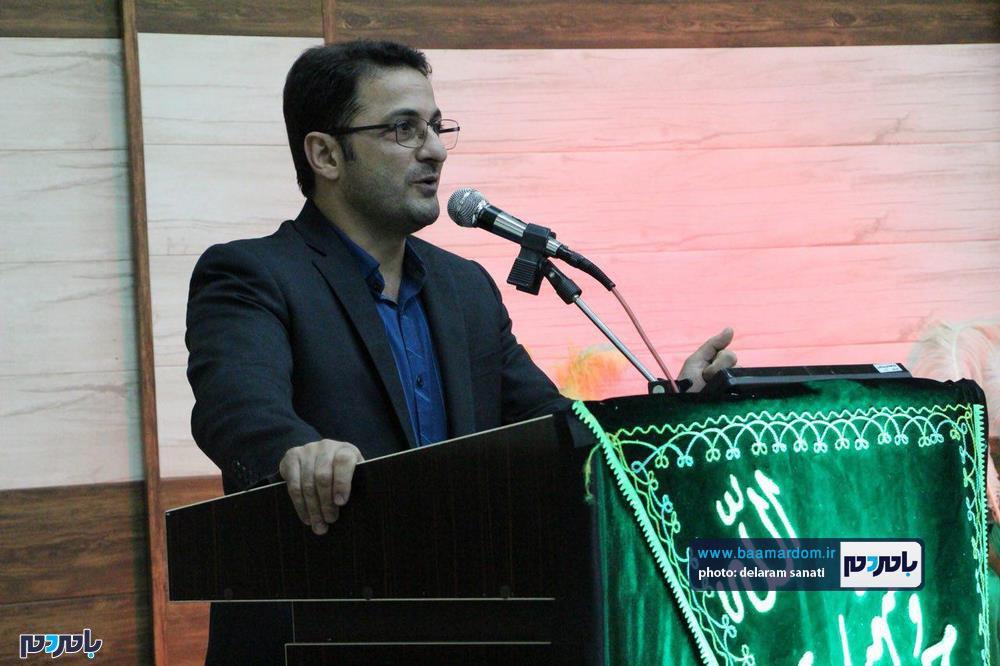سوگواره شعر عاشورایی در لاهیجان 18 - برگزاری نخستین سوگواره شعر عاشورایی به همراه تجلیل از پیر غلامان حسینی در لاهیجان / گزارش تصویری