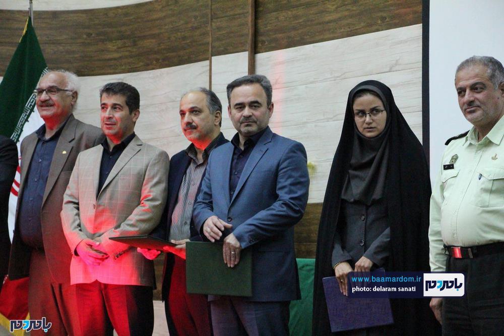 سوگواره شعر عاشورایی در لاهیجان 20 - برگزاری نخستین سوگواره شعر عاشورایی به همراه تجلیل از پیر غلامان حسینی در لاهیجان / گزارش تصویری