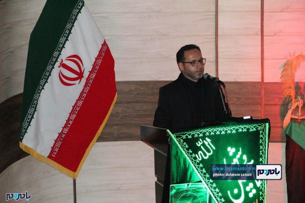 سوگواره شعر عاشورایی در لاهیجان 22 - برگزاری نخستین سوگواره شعر عاشورایی به همراه تجلیل از پیر غلامان حسینی در لاهیجان / گزارش تصویری