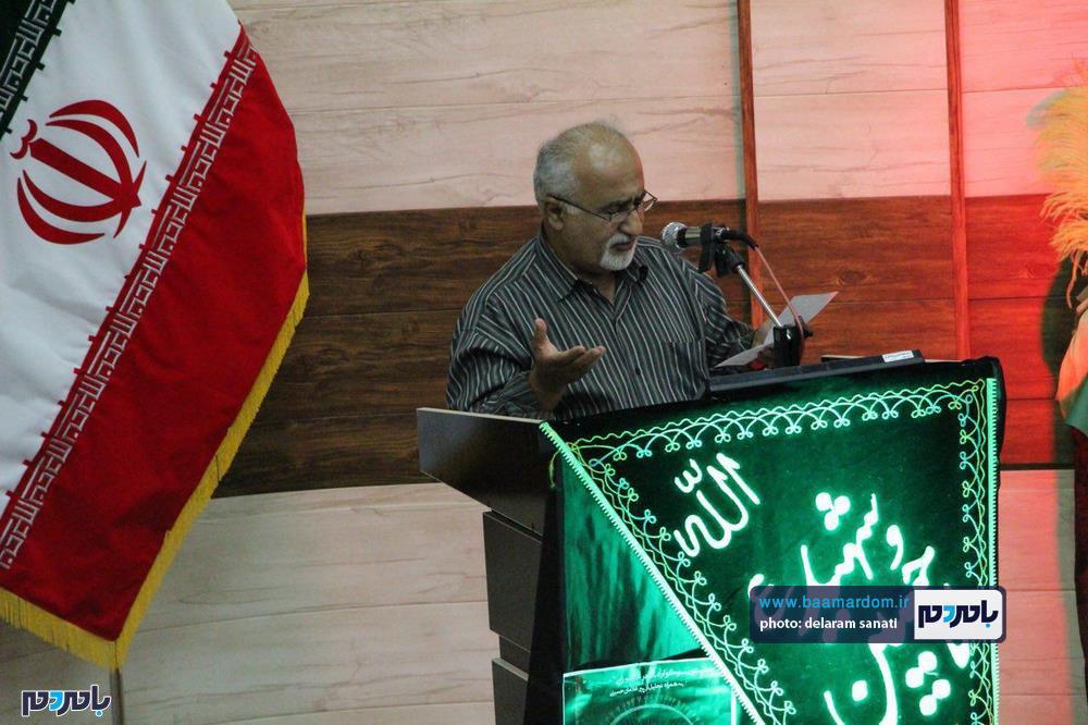 سوگواره شعر عاشورایی در لاهیجان 23 - برگزاری نخستین سوگواره شعر عاشورایی به همراه تجلیل از پیر غلامان حسینی در لاهیجان / گزارش تصویری