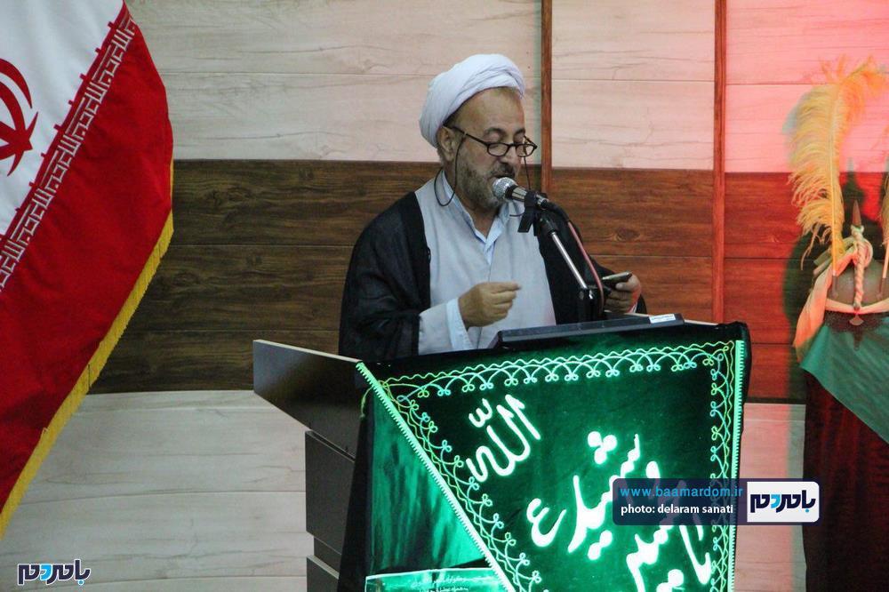 سوگواره شعر عاشورایی در لاهیجان 24 - برگزاری نخستین سوگواره شعر عاشورایی به همراه تجلیل از پیر غلامان حسینی در لاهیجان / گزارش تصویری