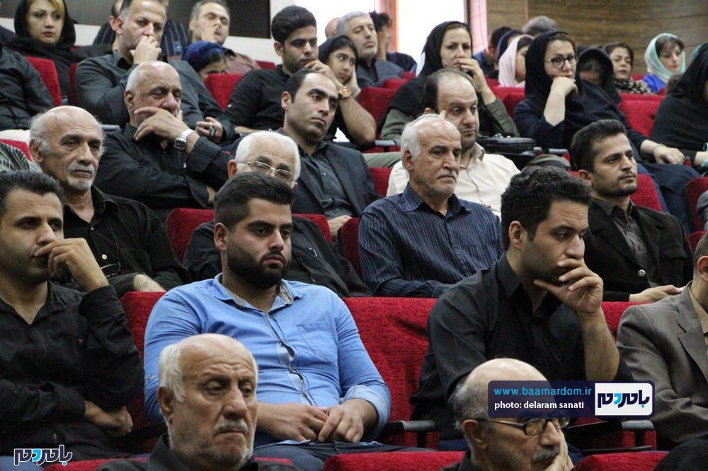 سوگواره شعر عاشورایی در لاهیجان 27 - برگزاری نخستین سوگواره شعر عاشورایی به همراه تجلیل از پیر غلامان حسینی در لاهیجان / گزارش تصویری