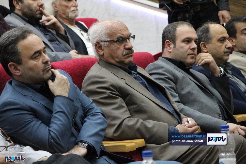 سوگواره شعر عاشورایی در لاهیجان 28 - برگزاری نخستین سوگواره شعر عاشورایی به همراه تجلیل از پیر غلامان حسینی در لاهیجان / گزارش تصویری