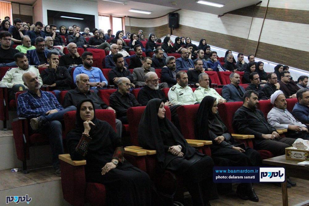 سوگواره شعر عاشورایی در لاهیجان 29 - برگزاری نخستین سوگواره شعر عاشورایی به همراه تجلیل از پیر غلامان حسینی در لاهیجان / گزارش تصویری