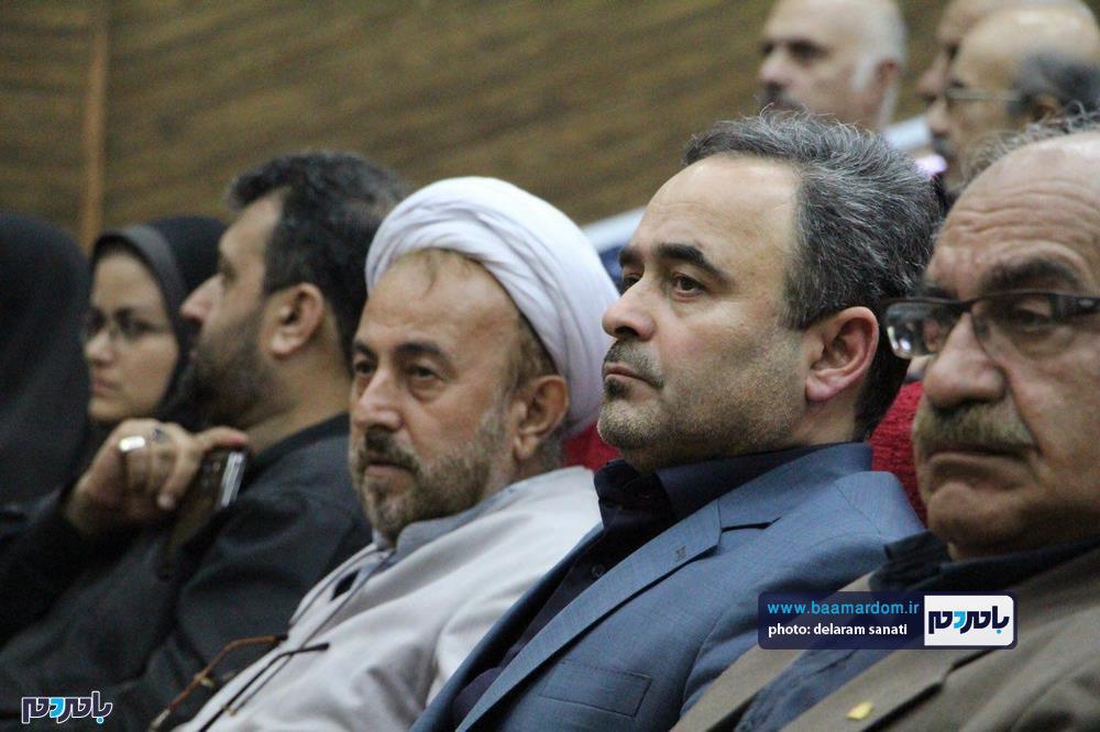 سوگواره شعر عاشورایی در لاهیجان 33 - برگزاری نخستین سوگواره شعر عاشورایی به همراه تجلیل از پیر غلامان حسینی در لاهیجان / گزارش تصویری