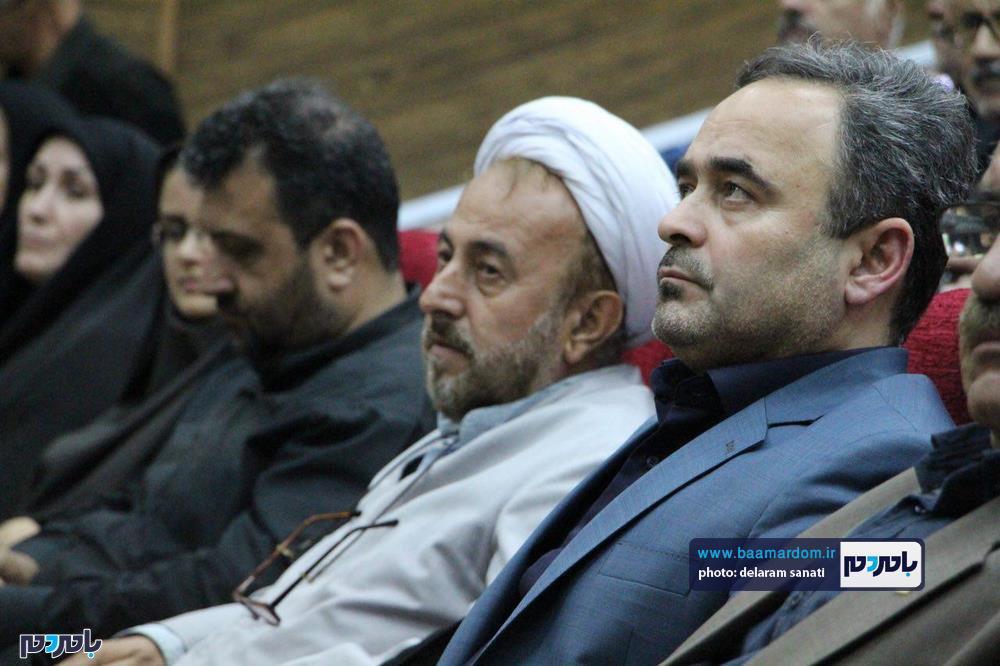 سوگواره شعر عاشورایی در لاهیجان 34 - برگزاری نخستین سوگواره شعر عاشورایی به همراه تجلیل از پیر غلامان حسینی در لاهیجان / گزارش تصویری
