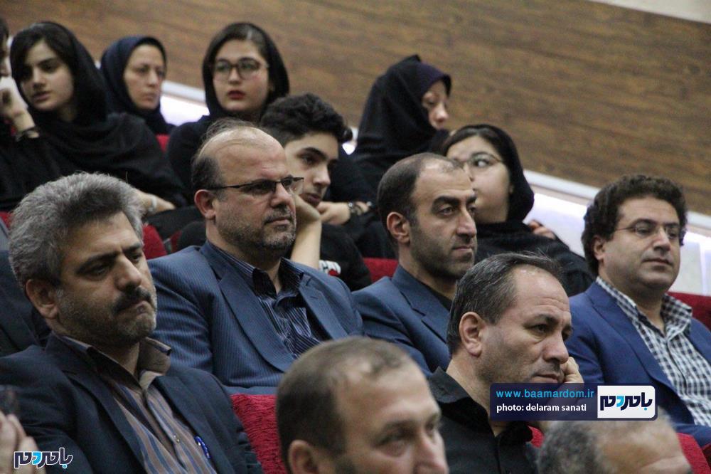 سوگواره شعر عاشورایی در لاهیجان 36 - برگزاری نخستین سوگواره شعر عاشورایی به همراه تجلیل از پیر غلامان حسینی در لاهیجان / گزارش تصویری