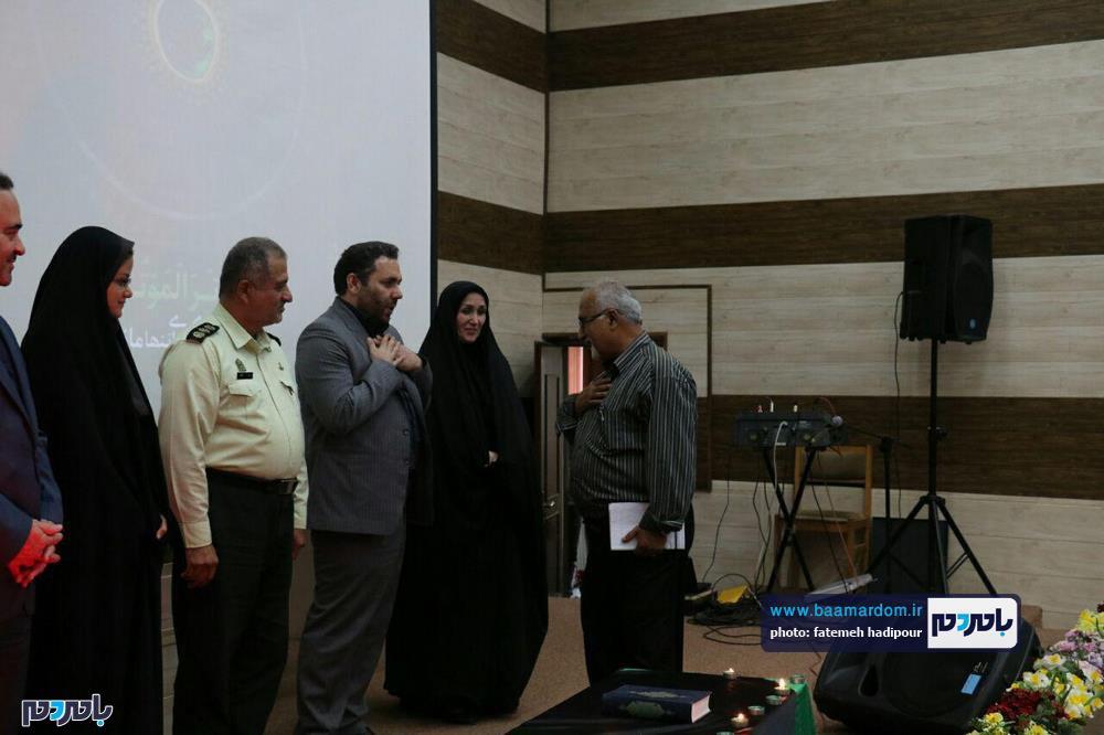 سوگواره شعر عاشورایی در لاهیجان 7 - برگزاری نخستین سوگواره شعر عاشورایی به همراه تجلیل از پیر غلامان حسینی در لاهیجان / گزارش تصویری