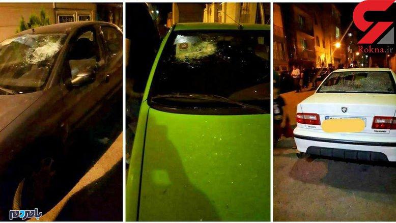 حمله وحشتناک کفن پوشان موتورسوار به یک محله در ورامین