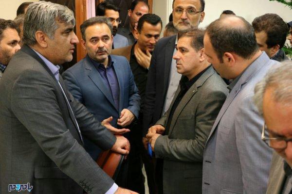 وزیر صمت در لاهیجان 2 600x400 - 80 میلیون دلار صادرات از لاهیجان به بیش از 20 کشور جهان / افزایش میانگین اقامت گردشگران در لاهیجان به یک و نیم روز