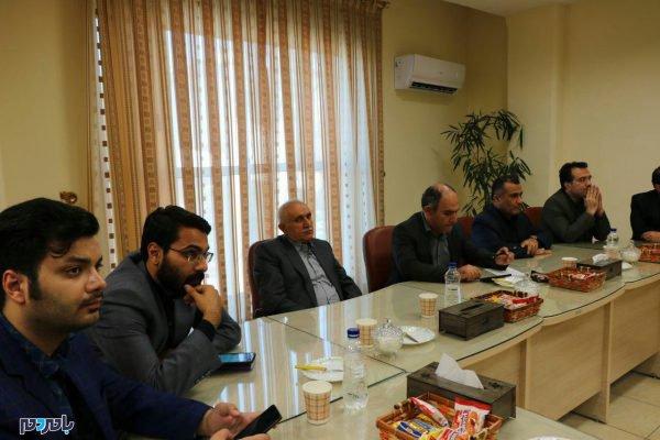 وزیر صمت در لاهیجان 6 600x400 - 80 میلیون دلار صادرات از لاهیجان به بیش از 20 کشور جهان / افزایش میانگین اقامت گردشگران در لاهیجان به یک و نیم روز
