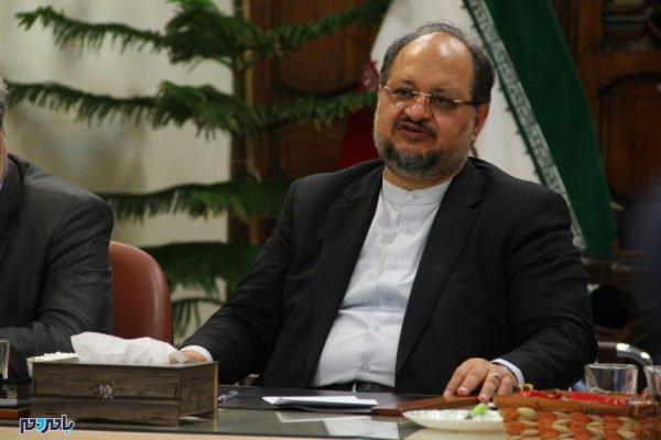 وزیر صمت در لاهیجان 9 600x400 - 80 میلیون دلار صادرات از لاهیجان به بیش از 20 کشور جهان / افزایش میانگین اقامت گردشگران در لاهیجان به یک و نیم روز