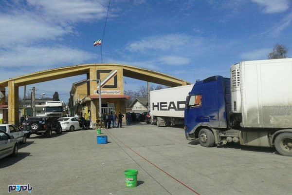 آستارا صادرات 600x400 - 129 میلیون دلار کالای غیر نفتی از گمرک آستارا صادر شد