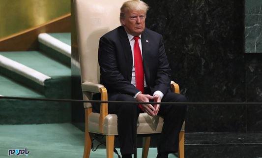 تحلیل زبان بدن ترامپ در سازمان ملل + تصاویر