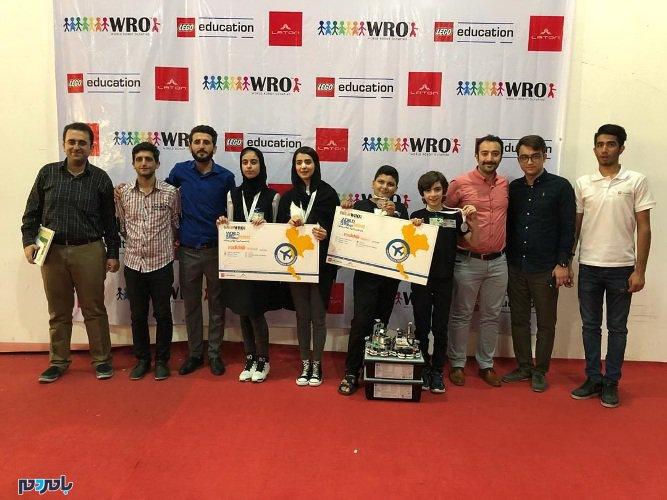 تیم رباتیک لاهیجان به مسابقات المپیاد جهانی تایلند راه یافت