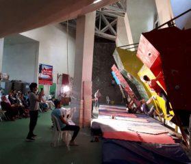 قهرمانی استان گیلان در مسابقات سنگنوردی