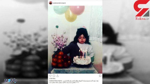 600x337 - عکس بدون حجاب آزاده نامداری در جشن تولد خودش