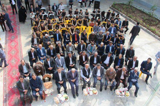 گزارش تصویری آیین افتتاحیه مدرسه دکتر پورخصالیان در لاهیجان