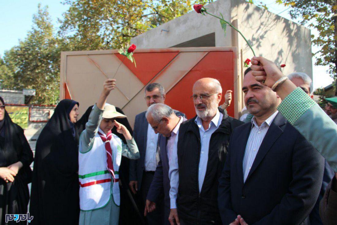 افتتاحیه مدرسه دکتر پورخصالیان در لاهیجان 6 - گزارش تصویری آیین افتتاحیه مدرسه دکتر پورخصالیان در لاهیجان