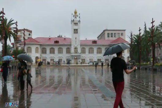 بارندگی باران رشت - تداوم بارش برف و باران در گیلان
