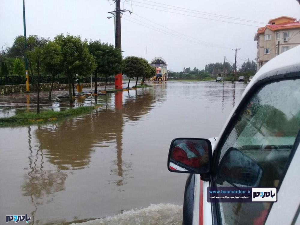 رودسر 14 - سیل در شهرستان رودسر به روایت تصویر