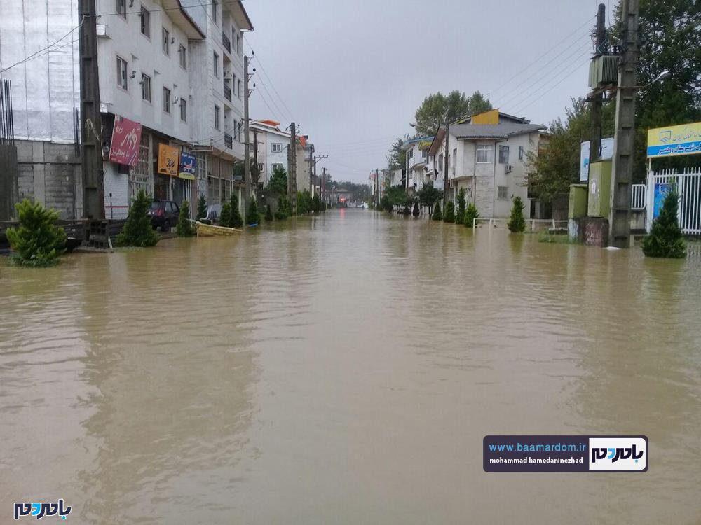 رودسر 2 - سیل در شهرستان رودسر به روایت تصویر