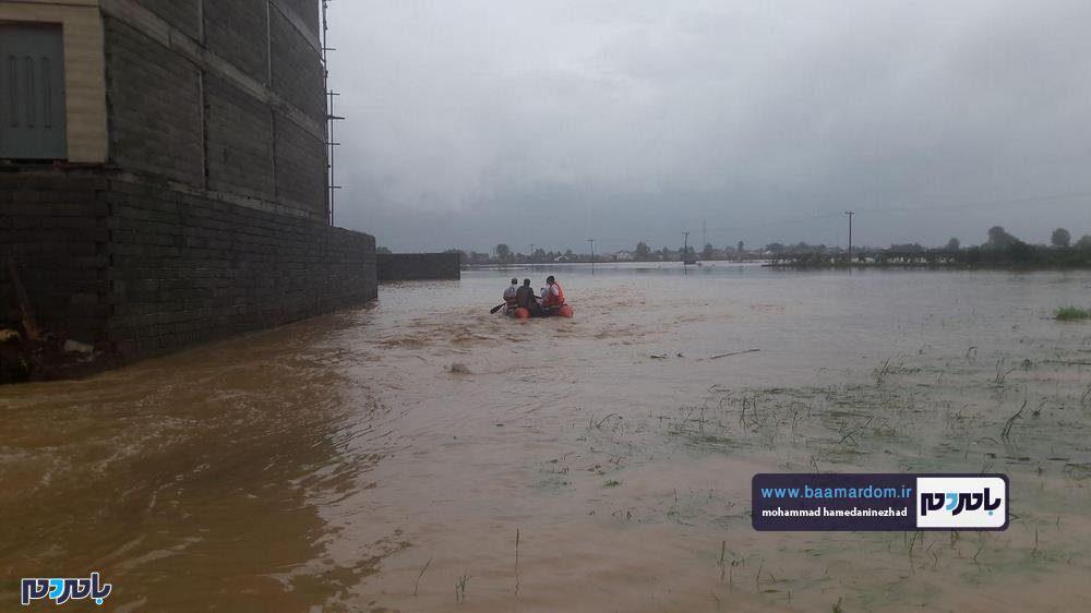 رودسر 26 - سیل در شهرستان رودسر به روایت تصویر