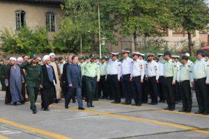 گزارش تصویری مراسم صبحگاه مشترک نیروهای مسلح لاهیجان