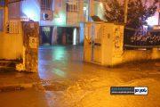 ستاد مدیریت بحران رحیم آباد، در محاصره آب! + تصاویر