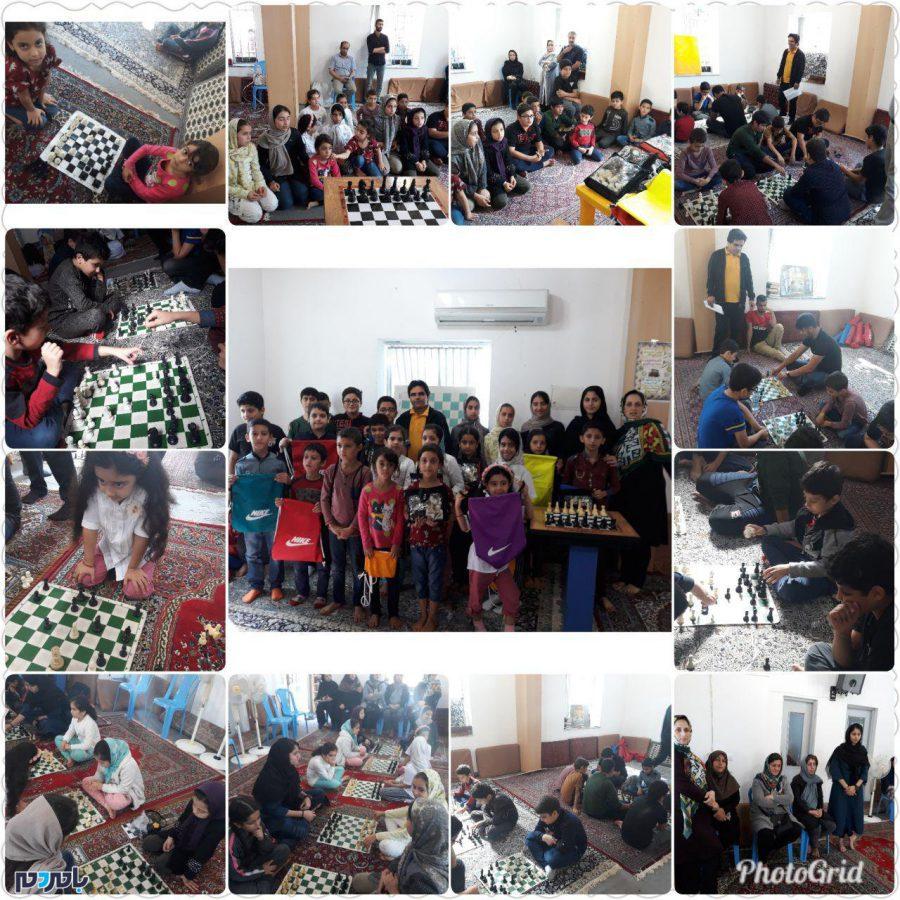 برگزاری مسابقات شطرنج در روستای کنف گوراب لاهیجان