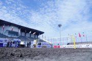 منطقه آزاد انزلی یکی از بهترین زمین های والیبال ساحلی دنیا را در اختیار دارد