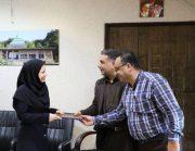 انتصاب یک بانو به عنوان سرپرست فضای سبز شهرداری لاهیجان