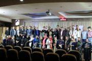 همایش شعر «در محضر دوست» در لاهیجان برگزار شد / تصاویر