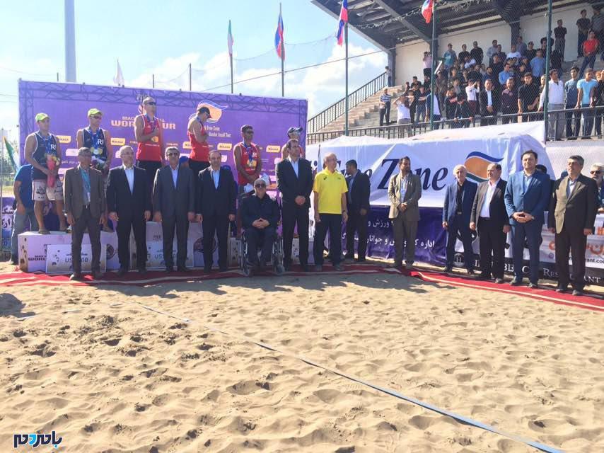 قزاق ها قهرمان تور والیبال جهانی تک ستاره انزلی شدند